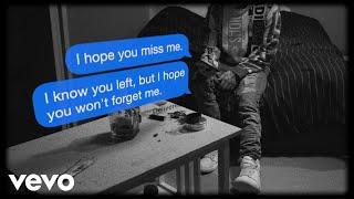 Joseph Black - (i hope you) miss me (Lyric Video)