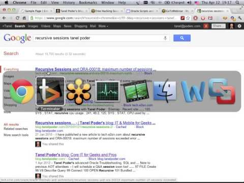 Oracle Hacking Session with Tanel Poder Oracle Parameter Infrastructure 207887373