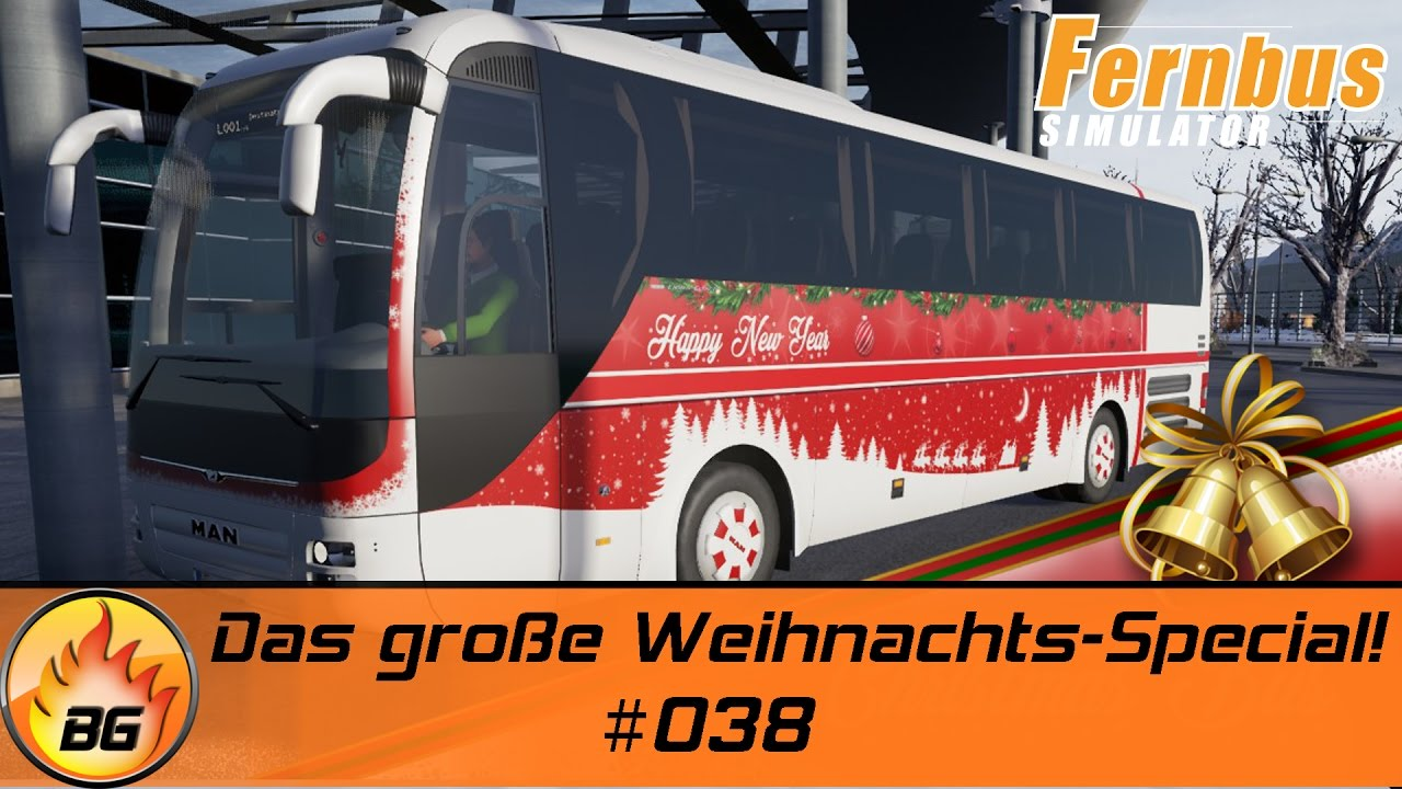 Fernbus Simulator #038   Das große Weihnachts-Special!   Let\'s Play ...