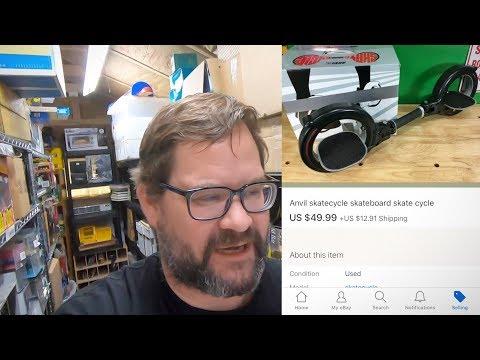 Garage sale flip - $3 sold for $50 on eBay