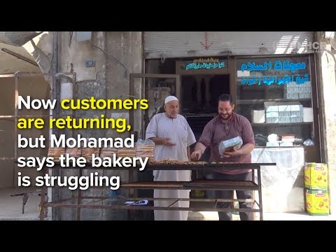 Syrian baker brings back touch of sweetness to Aleppo