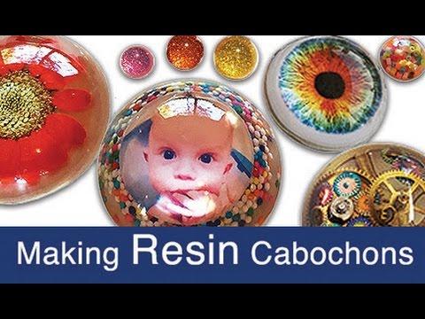 Making Resin Cabochons (half-spheres)