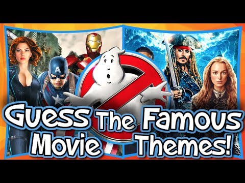 GUESS THE FAMOUS MOVIE THEME!!