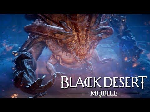 Black Desert Mobile Kzarka Raid Boss Battle Short Ver.