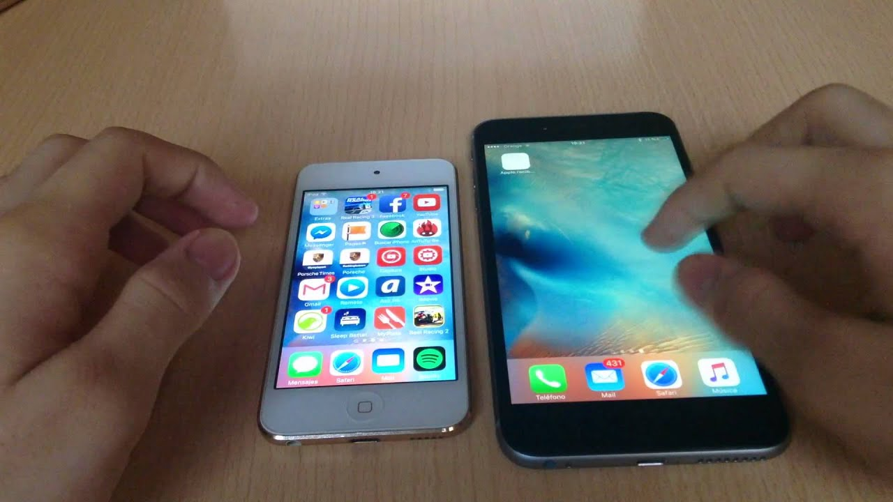 ipod touch 6 vs iphone 4s