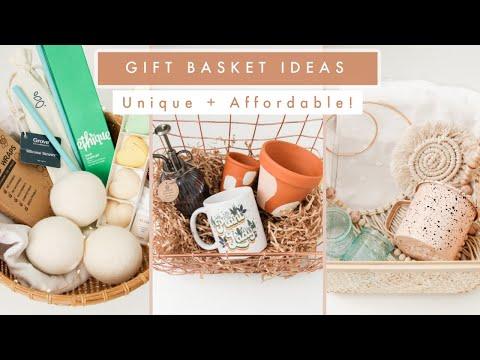 Gift Basket Ideas and DIYs | Unique Gift Baskets!