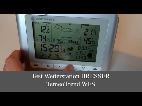 Wetterstation Bresser TemeoTrend WFS Im Test