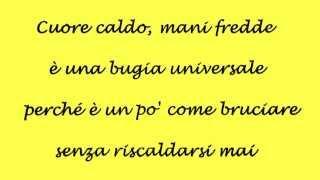 La nostra vita è oggi - Lorenzo Fragola (lyrics)