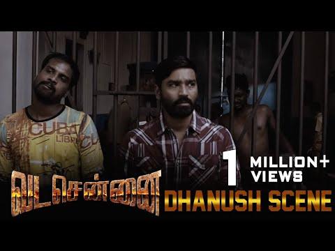 VADACHENNAI - Dhanush Intro Scene   Dhanush   Ameer   Andrea Jeremiah   Vetri Maaran