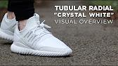 buy online 2163c 66aeb ADIDAS TUBULAR NOVA PRIMEKNIT (WHITE STONE)   PEACE X9 - YouTube