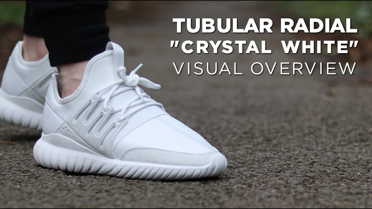 adidas Men's Tubular Radial Mono Casual Sneakers from