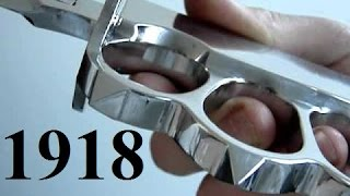 Repeat youtube video Trench Knife 1918 polished / Grabendolch poliert (homemade)