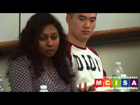 Alumni Panel Nov 12, 2015 - Internship and Job Search Strategies for International Students
