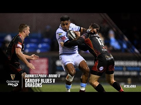 Guinness PRO14 Round 11 Highlights: Cardiff Blues V Dragons
