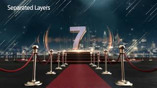 Red Carpet Countdown| VideoHive Templates | After Effects Project Files