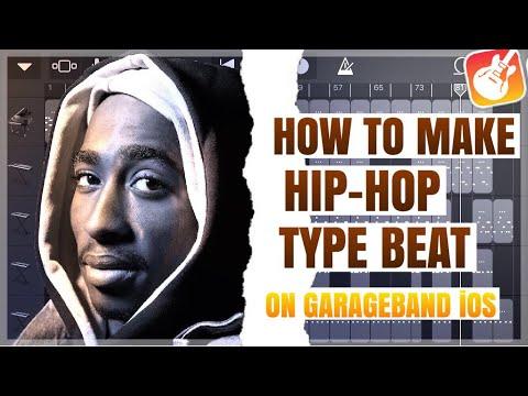 HOW TO MAKE HIP-HOP TYPE BEAT IN GARAGEBAND iPHONE\iPAD | HOW TO MAKE BEAT ON GARAGEBAND IOS