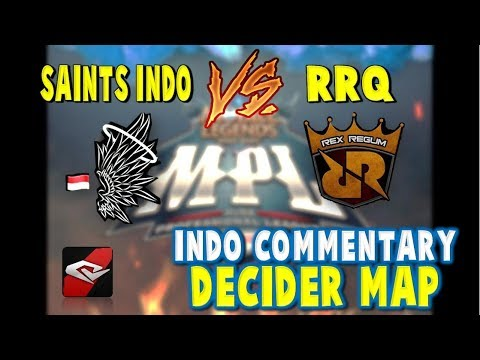 SAINTS INDO vs RRQ – Heroes Cup Grand Final – CRAZY 3RD MAP !! Mobile Legends