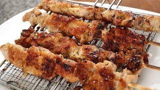 Grilled Pork Skewers (maekjeok: 맥적)