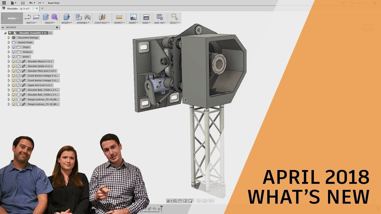 3D CAD/CAM Reinvented   Fusion 360   software for Product Design