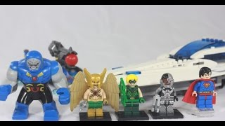 Lego Dc Super Heroes - Darkseid Invasion - 76028 - Justice League - Review