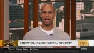 ESPN The Jump talks Flat Earth & Shaq ✅