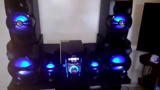 Mini system Philips Tocando Bass I Love You