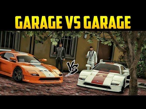 "GTA ONLINE ""20 CAR GARAGE VS GARAGE"" CLASSIC EDITION! (Best Garage Competition)"