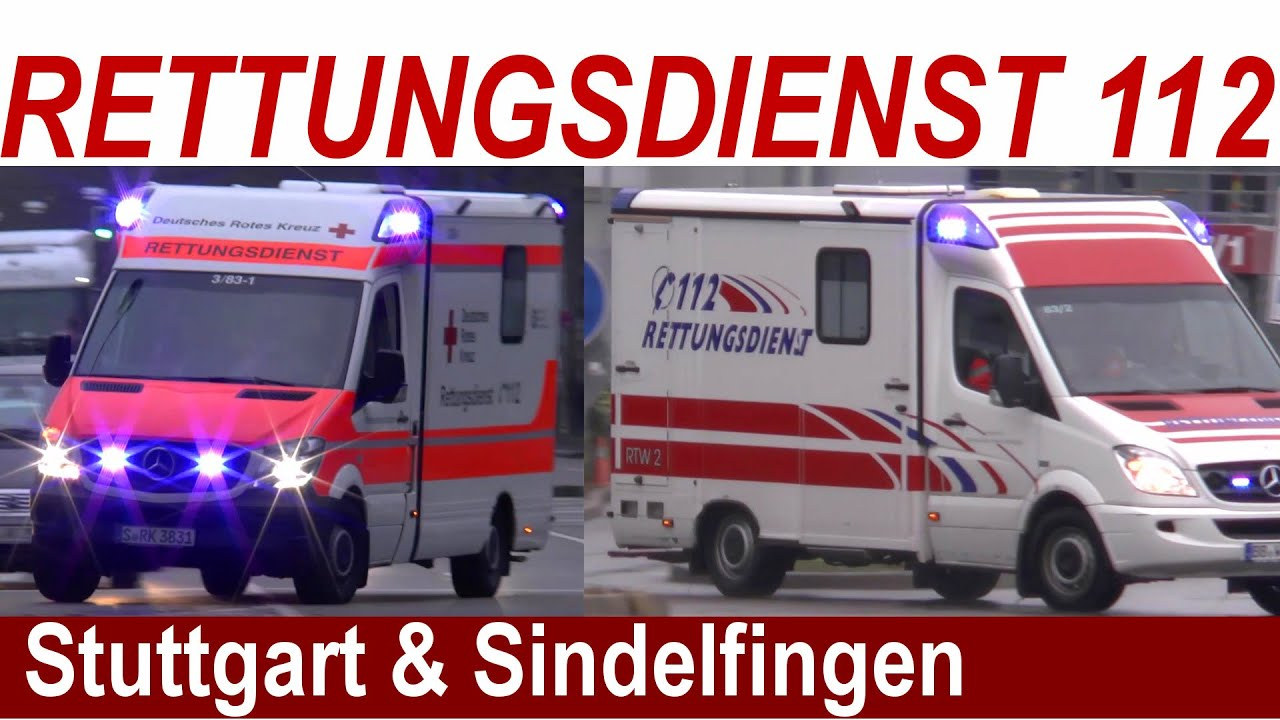 emergency einsatzfahrten 112 rettungsdienst stuttgart sindelfingen rtw2 daimler ag. Black Bedroom Furniture Sets. Home Design Ideas