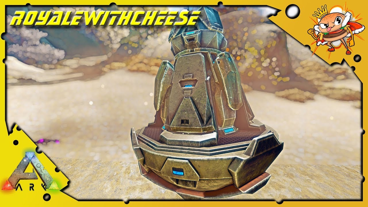 The Quest For Cryo Pods! Orbital Supply Drop Solo! - Ark: Survival