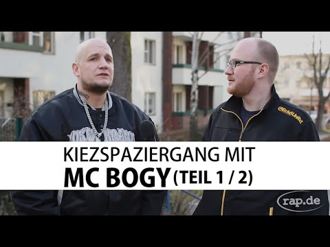 Interview: MC BOGY - Kiezspaziergang Teil 1/2 (rap.de-TV)