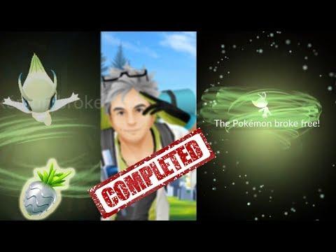 OMG New Mythical Pokemon Go Quest! Celebi Finally Caught!