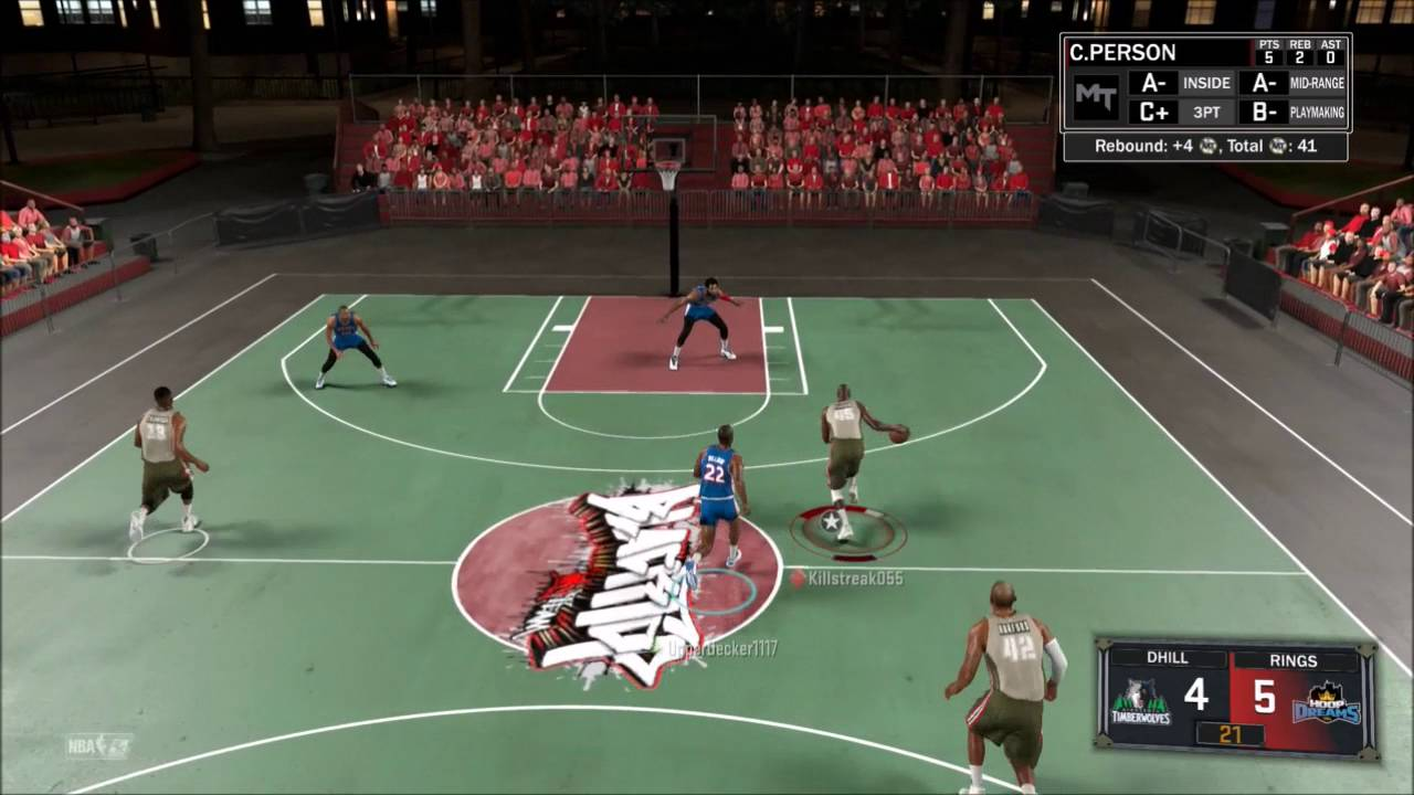 NBA 2K17 MyTeam Gauntlet Chuck Person on Fire