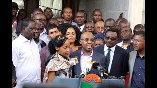 State is harassing me because of my political stand; Wanjigi speaks after 72 hrs siege at his home