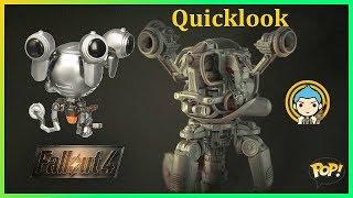 Funko Pop - Fallout 4 - Codsworth ★ Quicklook #26 ★