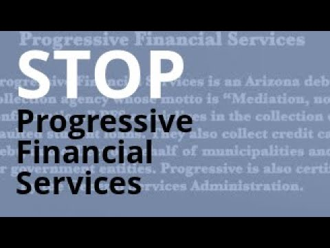 Progressive Financial Services Calling? | Debt Abuse + Harassment Lawyer