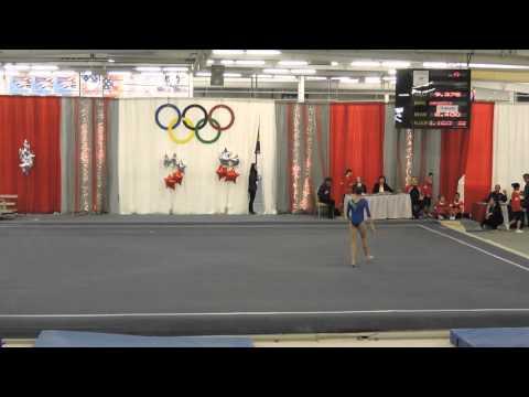 Emily Carey - Northeast Gymnastics Academy - Floor Exercise - 2016 Parkettes Invitational