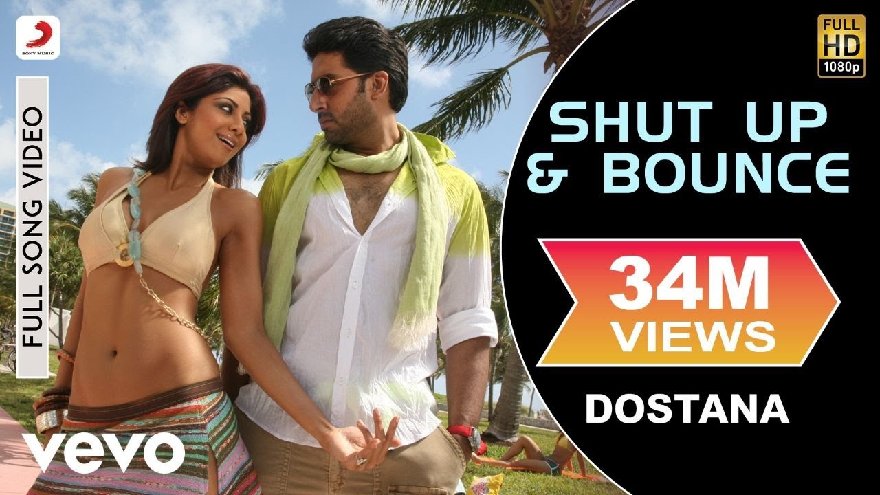 Shut Up & Bounce Full Video - Dostana|John,Abhishek,Shilpa Shetty|Sunidhi Chauhan