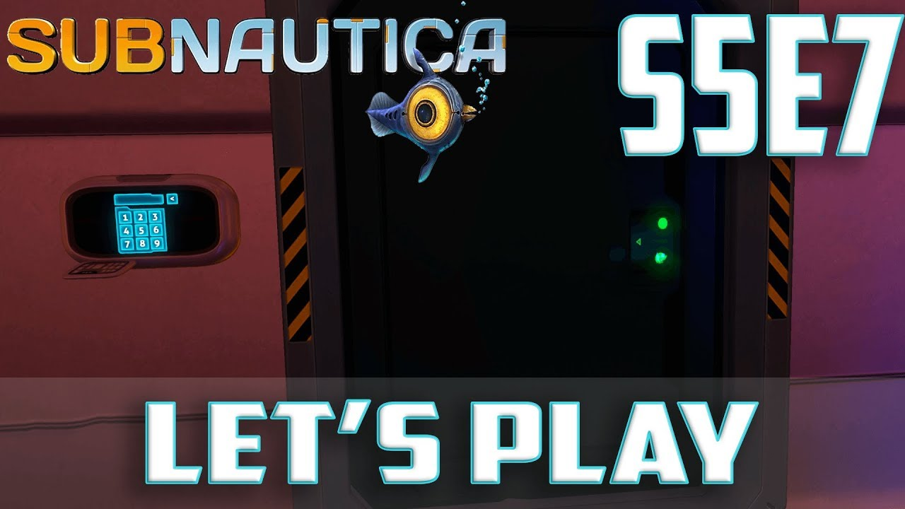 subnautica let 39 s play pc gameplay s5 ep 7 how to unlock captains quarters door code youtube. Black Bedroom Furniture Sets. Home Design Ideas