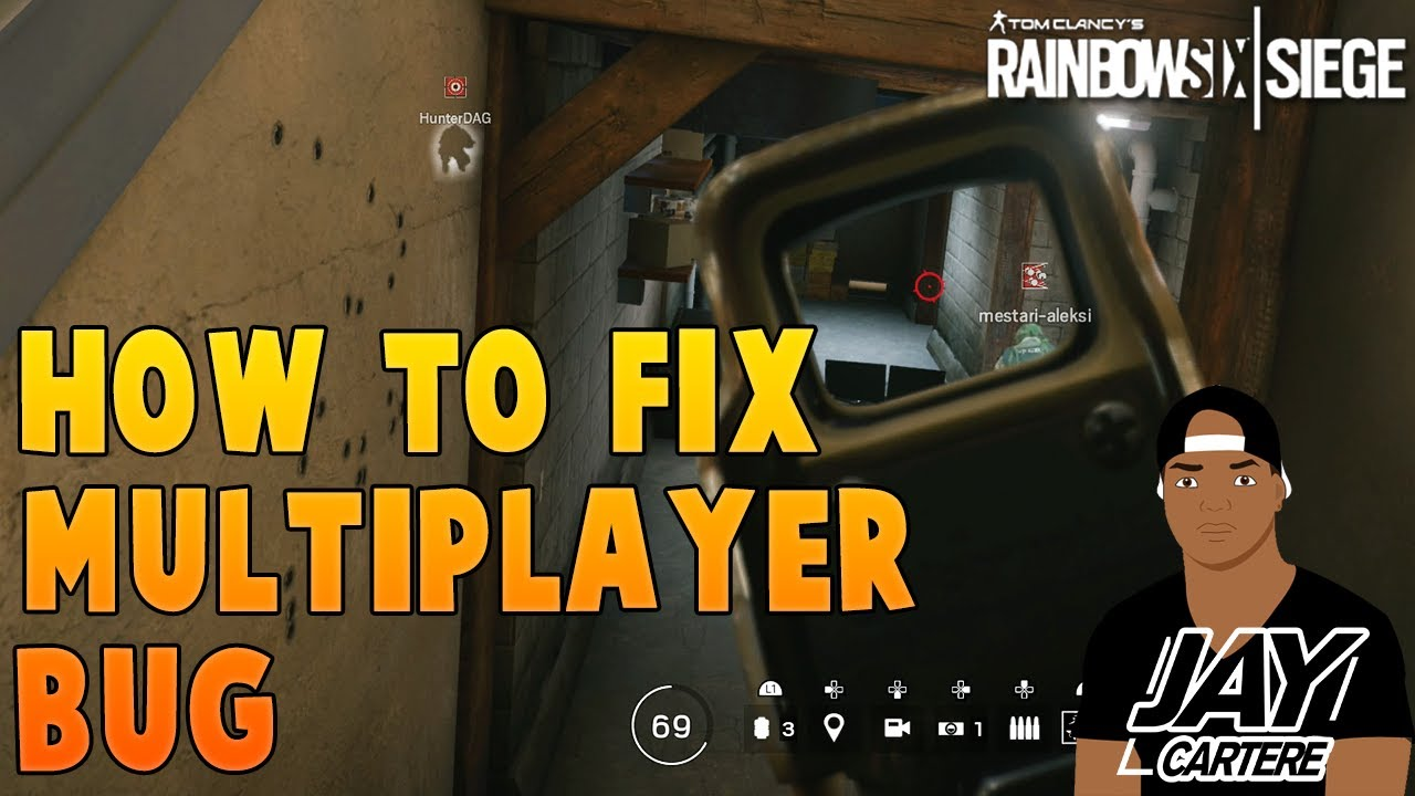 Rainbow 6 Siege Tips - How To Fix The Multiplayer Not Working Bug On PS4 -  PS4 Multiplayer Fix -