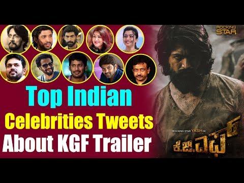 Top Indian Celebrities About KGF Trailer || #YASH KGF Trailer || Top Kannada TV Mp3