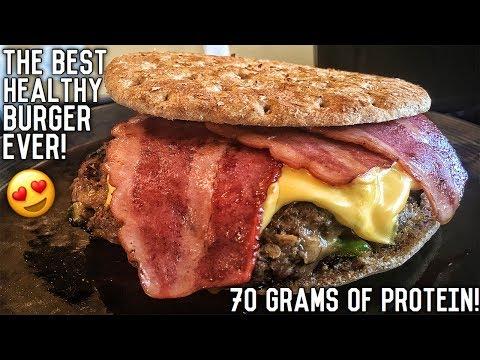 Healthy Bodybuilding Bacon Cheeseburger Recipe   Double Seal Approved