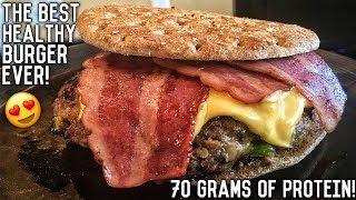 Download lagu Healthy Bodybuilding Bacon Cheeseburger Recipe | Double Seal Approved