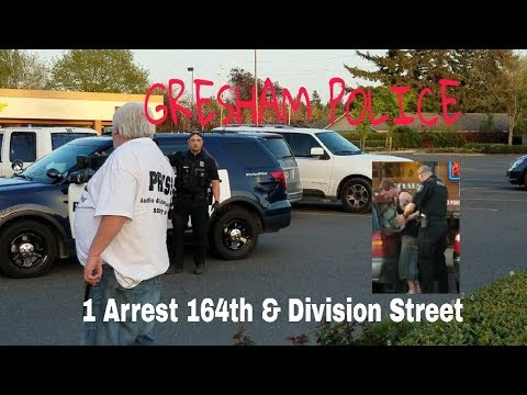 1 Arrested 164th & Division Street at Dotty's [GRESHAM PD]
