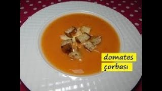domates çorbası tarifi...