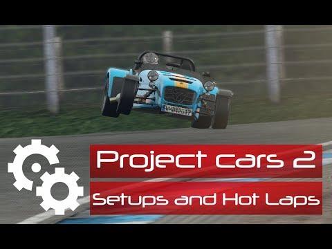 Project Cars Caterham Setup