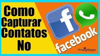 Como capturar contatos do Facebook