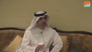 """بالفيديو""""العين"""" في لقاء خاص مع كاتب رواية """"ريتاج"""" الدكتور حمد الحمادي"""