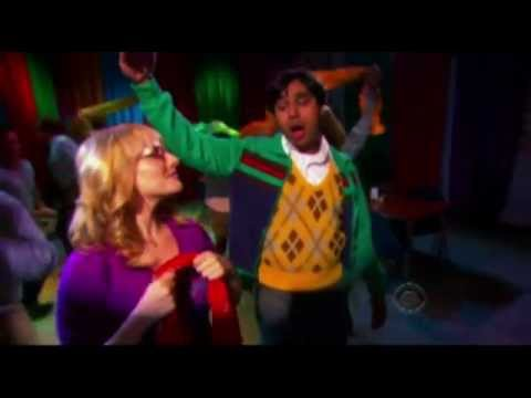 "Raj and Bernadette song ""my heart, my universe"" The Big Bang Theory with lyrics"