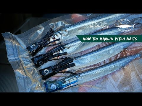 PITCH BAITS FOR BILLFISH