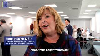 Arctic Connections: RSGS Young Geographers Visit ScotGov's Policy Launch